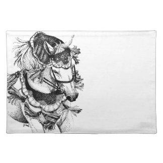 衣裳のアラビアの馬 ランチョンマット