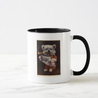 衣裳の「ボブ読書」の-犬 マグカップ
