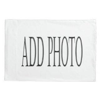 衣裳はあなた自身の写真の枕カバーを加えます 枕カバー
