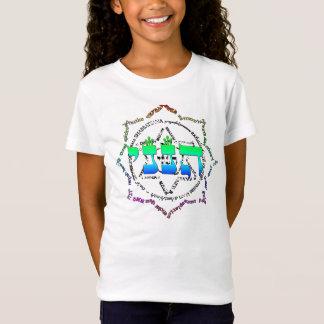 表現のチャクラ色の爆発 Tシャツ