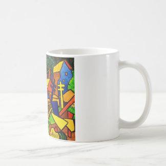 表現主義の列車4 コーヒーマグカップ