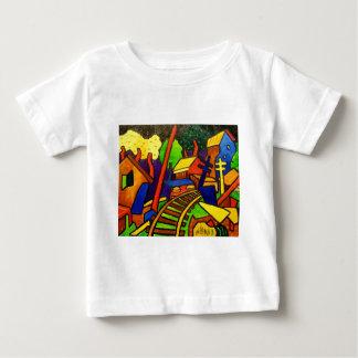 表現主義の列車4 ベビーTシャツ