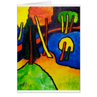 表現主義の森林 カード