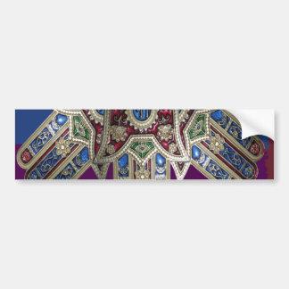 表示だけ: 装飾的な宗教アイコン バンパーステッカー