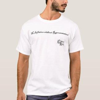 表示なしのインフレーション無し! Tシャツ