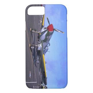 表示のP40、Front_WWIIの飛行機 iPhone 8/7ケース