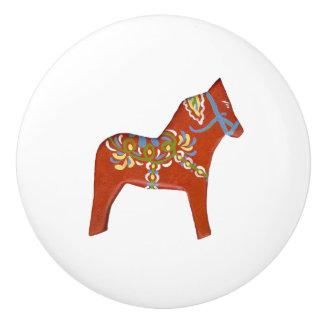 表面仕上げのDalaの右の馬の陶磁器のノブ セラミックノブ