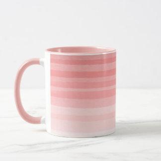 衰退したピンク-ピンクの信号器のコンボのマグ マグカップ