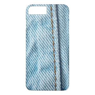 衰退したブルー・ジーンズのズボンの脚 iPhone 8 PLUS/7 PLUSケース