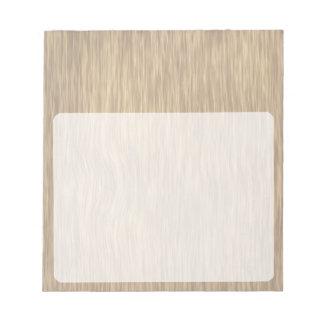 衰退した色の荒い木製の穀物の背景 ノートパッド