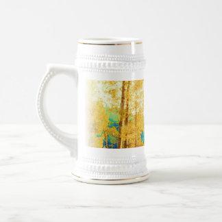 衰退した《植物》アスペンのマグ ビールジョッキ