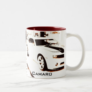 """""""衰退したCamaro""""の© 2009 S.J. ツートーンマグカップ"""
