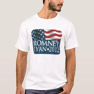 衰退するミット・ロムニーポールライアン2012 Tシャツ