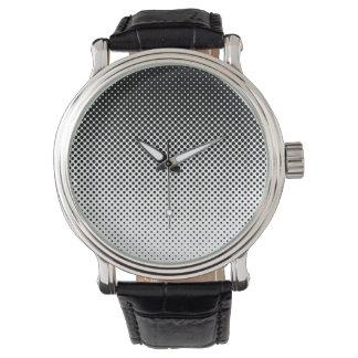 衰退の白黒点の腕時計 腕時計