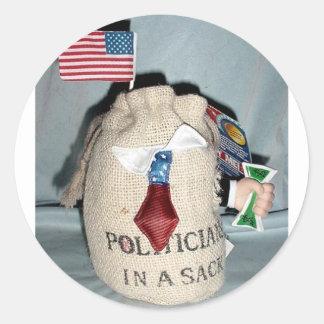 袋の政治家 ラウンドシール
