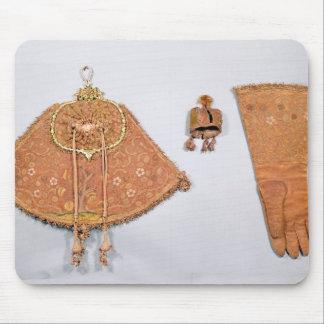 袋、手袋およびフード、フランス語の咳払いで出すセット マウスパッド