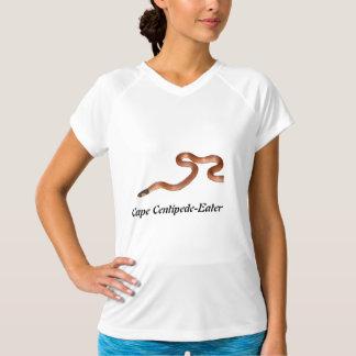 袖なし岬のムカデEaterLadiesマイクロ繊維 Tシャツ