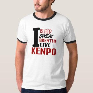 裁ち切り汗KENPO 1.1 Tシャツ