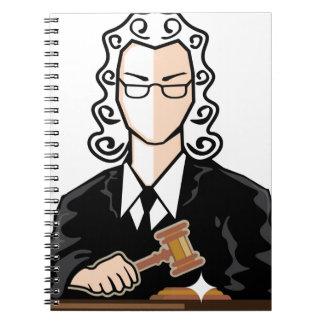 裁判官のベクトル外的人格 ノートブック