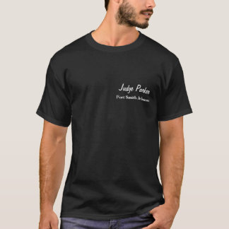 裁判官のParker Fort Smith ArknasasのTシャツ Tシャツ