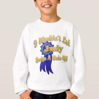裁判官Judyは焼けます スウェットシャツ