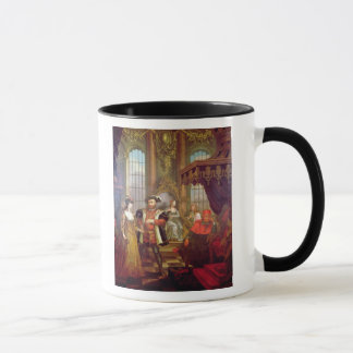 裁判所のヘンリー八世導入のアン・ブーリン マグカップ