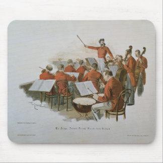 裁判所の球のヨハンStraussのオーケストラ マウスパッド