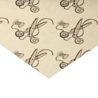 裁縫のはさみ 薄葉紙
