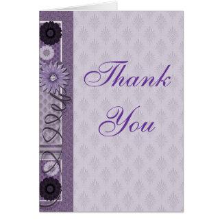 裁縫の常習者ありがとう カード