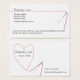裁縫の技術の名刺 名刺