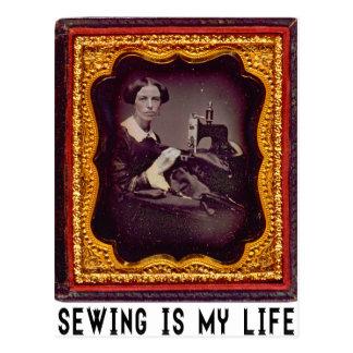 裁縫は私の生命です ポストカード