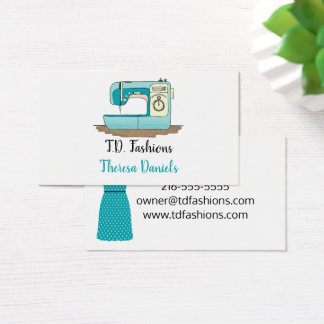 裁縫婦の名刺 名刺