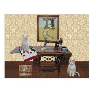 裁縫婦及びQuiltersのためのカスタマイズ可能な郵便はがき ポストカード