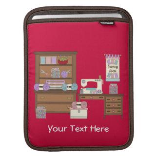 裁縫部屋2 (名前入りな) iPadスリーブ