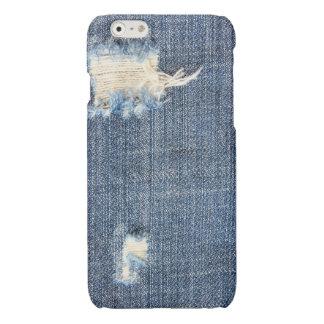 裂かれたジーンズの一見のiPhone6ケース