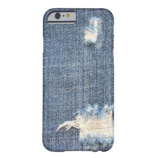 裂かれたジーンズの一見のiPhone 6の箱 Barely There iPhone 6 ケース