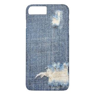 裂かれたジーンズの一見 iPhone 8 PLUS/7 PLUSケース