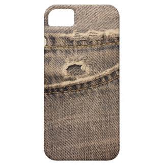 裂かれたジーンズの小型iPhone4穹窖ID iPhone SE/5/5s ケース