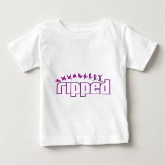 裂かれたV1B ベビーTシャツ
