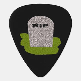 裂け目の墓碑のギターピック ギターピック