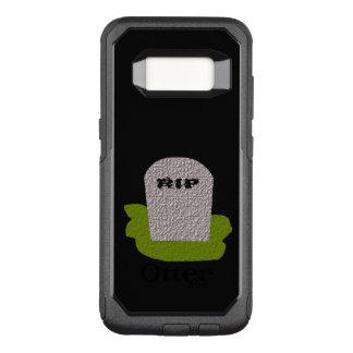 裂け目の墓碑の電話箱 オッターボックスコミューターSamsung GALAXY S8 ケース