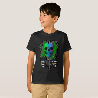 裂け目の骨組 Tシャツ