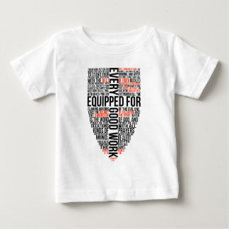 装備されていた盾 ベビーTシャツ