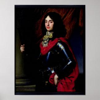 装甲のPalatinateのエドワードポートレートの王子 ポスター