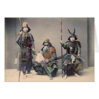 装甲ヴィンテージの写真の3武士 カード