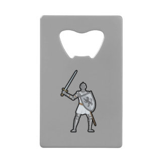 装甲中世騎士 ウォレット ボトルオープナー