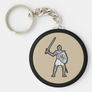 装甲中世騎士Keychain キーホルダー