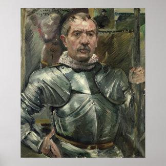 装甲1914年の自画像 ポスター