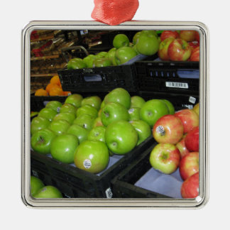 装飾のためのKnoxvilleの動物園の031.JPGりんごのフルーツ メタルオーナメント