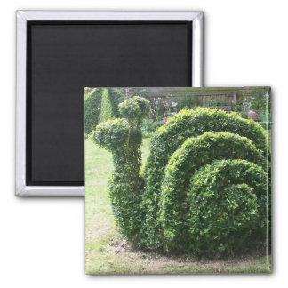 装飾刈り込み法のおもしろいの庭かたつむり マグネット